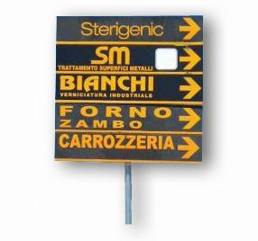 Cartelli Stradali personalizzati