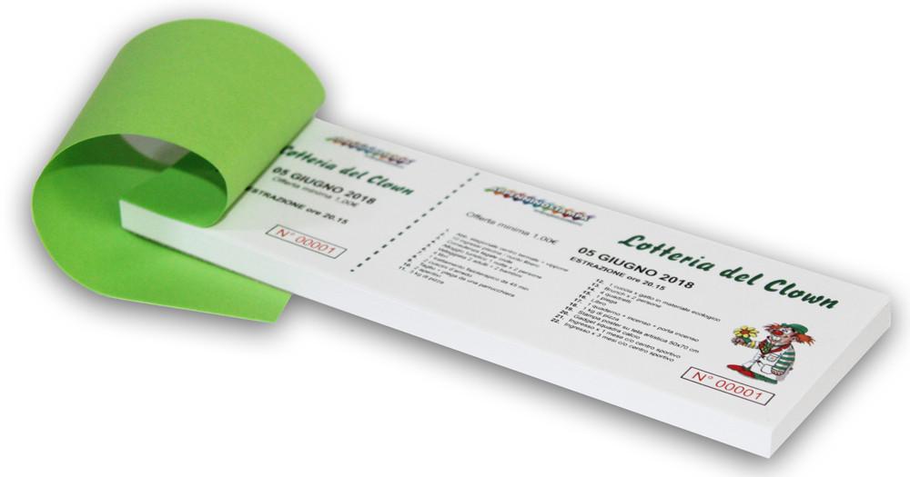 Biglietti Numerati Personalizzati