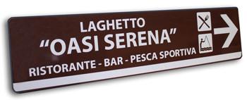 cartelli stradali personalizzati 25x100