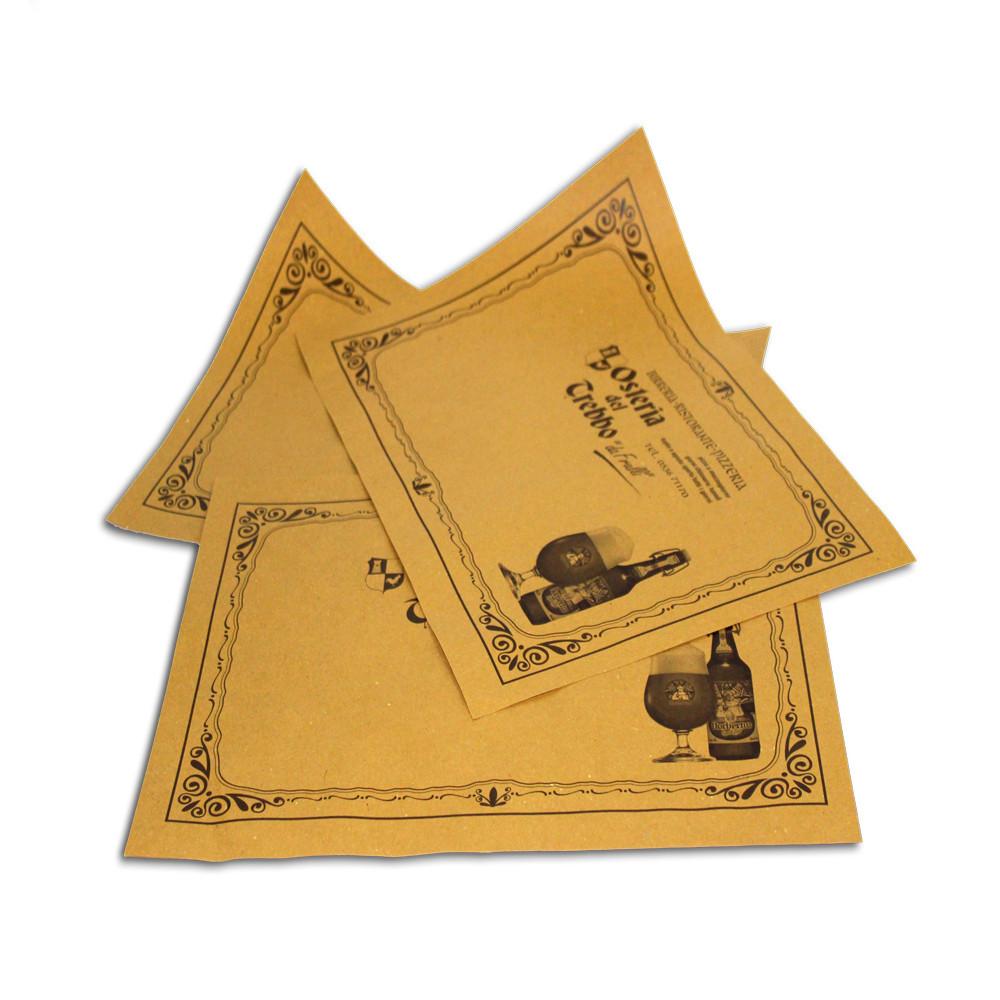 Tovagliette in carta Paglia
