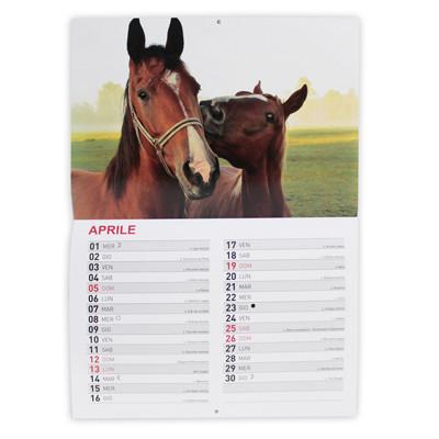 Calendario a punto metallico