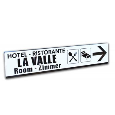 cartelli stradali personalizzati 25x125